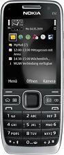 Nokia E52 Handy Schwarz (Ohne Simlock) WIE NEU MwSt.