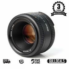 BRAND NEW Nikon Nikkor 50mm f/1.8D AF Lens UK DISPATCH