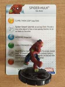 Spider-Hulk - Marvel - Web of Spiderman HeroClix #061 chase