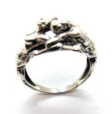 STERLING SILVER (.925) ZEUS & ATHENA (GOD & GODDESS) RING