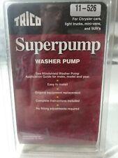 Windshield Washer Pump Rear Trico 11-526