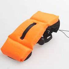 Waterproof Floating Foam Wrist Arm Strap For Canon Nikon Gopro 3  3+ 4 orange