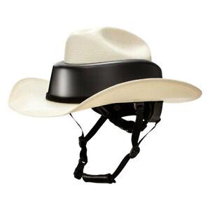 Resistol RideSafe Western Natural Straw Cowboy Hat Helmet Ride Unisex