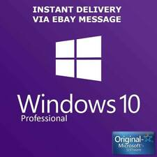 Windows 10 Professional 32 & 64-Bit MS Win 10 Pro Activation Key Product Code
