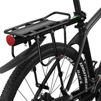 RockBros Bike Quick Release Carrier Mount Pannier Racks with Fender Black