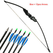 30/40lbs Adult Archery Straight Bow Takedown Recurve Bow Right Hand Shooting