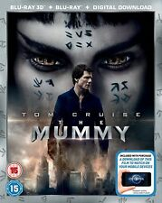 THE MUMMY [Blu-ray 3D + 2D] 2017 Tom Cruise Movie UK Exclusive 3D Release