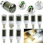 E27 E14 B22 GU10 G9 LED Corn Bulb 4014 SMD 220V 12W 18W 25W 30W 35W Clear Lamp