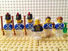 Lego Pirates Lot of 6 Bluecoat Imperial Soldiers Minifigs 70413 70410