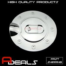 FOR FORD F-150 2004-2008 CHROME GAS TANK FUEL DOOR COVER