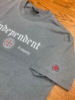 Early 00s Independent Truck Company Gray T Shirt Sz L Skateboard Santa Cruz Cali