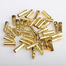 10pairs 3.5mm Gold Bullet Connector for RC battery motor ESC wholesale price