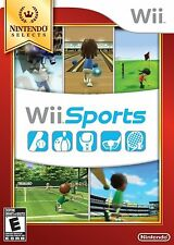 Wii Sports - Nintendo Selects [Nintendo Wii, Sports Golf Tennis Baseball Boxing]