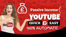 CREATE AND MANAGE YOU A PASSIVE YOUTUBE BUSINESS TO MAKE YOU £2K PER MONTH
