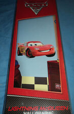 Disney Pixar Cars 2 Lightning Mcqueen Fathead Reuseable Vinyl Wall Graphic New
