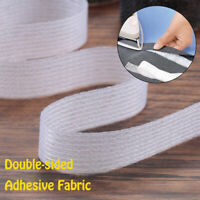 Interlining Apparel Iron on Sewing roll Adhesive fabric Hem tape Double-sided