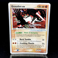 Groudon ex - EX Hidden Legends 93/101 - Ultra Rare Holo Pokemon Card