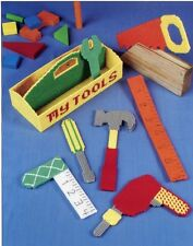 My Tools Playtime Fun Toys Annie's Plastic Canvas Pattern/Instructions Leaflet