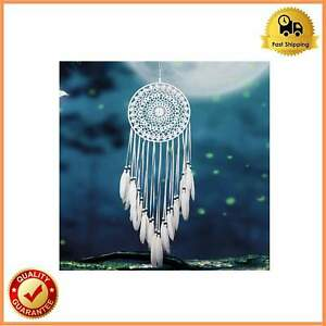 White Large Handmade Dream Catcher Feathers Hanging Dreamcatcher Home Decoration