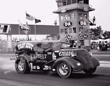 "8 x 10"" Fast Eddy Gasser Racing At Indy Made from Negative"