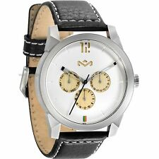MENS HOUSE OF MARLEY BILLET LEATHER IRON WATCH WM-FA005-IO