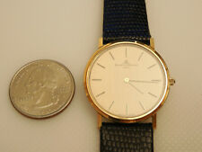 BAUME MERCIER FULL SOLID 14K GOLD 30MM SMALL CLASSIMA ULTRA THIN DRESS WATCH