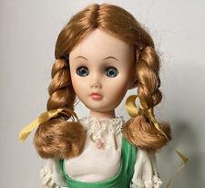 "Vintage 60s Vinyl Lady Doll Vermont Maid Revlon Clone Dollikin Uneeda Type 15"""