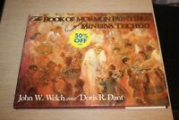 The Book of Mormon Paintings of Minerva Teichert (1997, Hardcover)