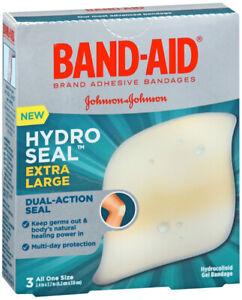 BAND AID HYDRO SEAL BANDAGE EXTRA LARGE 3CT