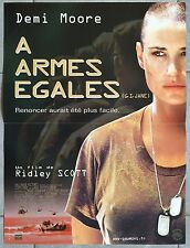 Affiche A ARMES EGALES G.I. Jane RIDLEY SCOTT Demi Moore VIGGO MORTENSEN 40x60 *