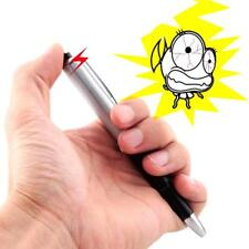 Shocking Electric Shock Novelty Metal Pen Prank Trick Joke Gag Toy Gift Funny~