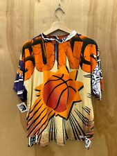Vintage Phoenix Suns Magic Johnson T's All Over Print T Shirt Size Medium Nba