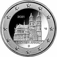 Germania 2021 Saxe-Anhalt - Cathédrale De Magdeburg Monnaie: D
