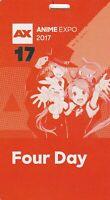 Anime Expo 2017 4 day pass badge