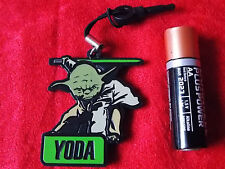 "STAR WARS YODA Mascot Rubber Figure JAPAN GLICO FREE GIFT 2""  5cm UK DESPATCH"