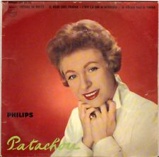 "PATACHOU ""VOYAGE DE NOCES"" 60'S EP  PHILIPS 432.551"