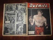 """FOTOROMANZO """"DUEMILA"""" SETTIMANALE DI AVVENTURE NUMERO 47 DEL 25 NOVEMBRE 1951"""