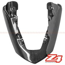 2007 2008 ZX-6R Rear Seat Upper Tail Exhaust Shield Fairing Cowling Carbon Fiber