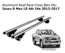 Aluminium Roof Rack Cross Bars fits ISUZU D-MAX with roof rails 06/2012 Onwards