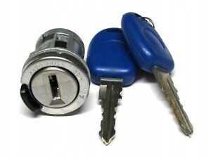 For Fiat Doblo Punto Seicento Panda Stilo Ignition Lock Barrel Cylinder & Keys