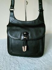 Radley Leather Ladies Small Black Shoulder Cross Body Hand Bag #34
