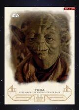 Topps Star Wars Card Trader Galactic Heritage Empire Strikes Back Yoda Award