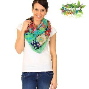 DESIGUAL  CUELLO PAULINA Multicolore Wrap Scarf 41W5762