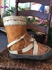 Antique, Indian/Eskimo, Mocassins / Boots