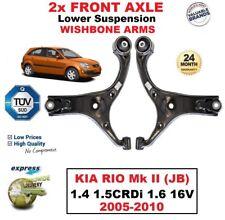 2X Delante Axlel + R Horquilla Inferior Brazos para Kia Rio 1.4 1.5crdi 1.6 CVVT