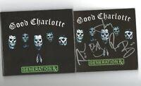 Good Charlotte SIGNED Generation Rx CD Album