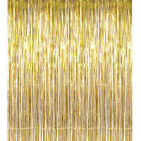 Metallic Foil Fringe Curtain Tinsel Party Decoration Wedding Home Happy New Year