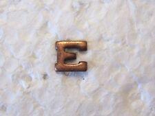 """USN/USCG MARKSMANSHIP AWARD DEVICE  BRONZE """"E"""""""