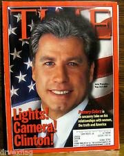 VINTAGE TIME Magazine Mar March 16 1998 FINE Clinton/Lewinsky/Travolta/Jones