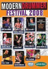 Modern Drummer Festival 2008 Instructional Drum  DVD NEW 000320865